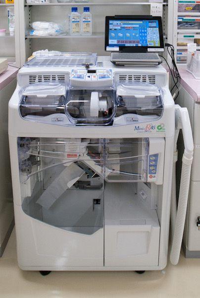 全自動散薬分包機
